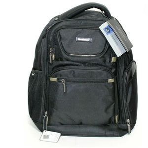 Brookstone Backpack Hayes Collection BR-BP-22-BKGD